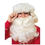 Santa Wigs, Beards, & Eyebrows