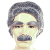 Albert Einstein Wig / Eyebrow / Moustache Set - Deluxe