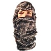Black Santa Wig and Beard