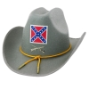 Deluxe Confederate Officer Hat