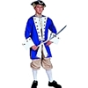 Colonial Captain Adult - Deluxe Costume