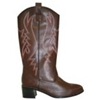Cowboy Boots Men Brown