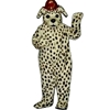 Dalmation Dog With Hat Mascot - Sales