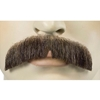 Deluxe Human Hair Downturn Moustache