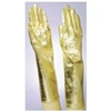 Gold Lame Gloves