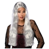 Long Gray Witch Wig