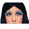 Metallic Tinsel Eyelashes - Long