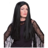 Long Black Wig for Morticia