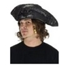 Old Pirate Hat - Black