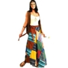 Patchwork Wrap Skirt Adult