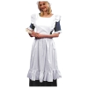 White Pinafore Apron