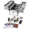 Professional Makeup Production Kit with Aluminum Case