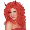 Red Glamour Wig