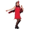 Roaring 20's Flapper Child Costume - Red