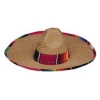 Traditional Sombrero with Serape Band