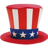 Uncle Sam Top Hat - Deluxe Foam