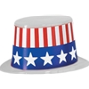 Uncle Sam Top Hat - Plastic