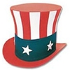 Uncle Sam Top Hat - Super Deluxe