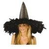 Feather Witch Hat