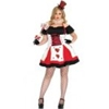 Pretty Playing Card – Plus Size Adult Costume