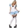 Alice in Wonderland Alice Peasant Dress – Adult Costume