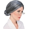 Bun Spinster Wig