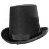 Deluxe Abe Lincoln Stove Pipe Hat