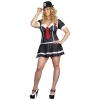 American Gangsta Sexy Plus Size Adult Costume