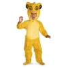 The Lion King Deluxe Simba Toddler Costume