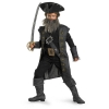 Pirates of the Caribbean Deluxe Black Beard Kids Costume