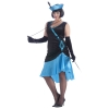 Betty Blue Flapper Plus Size Adult Costume
