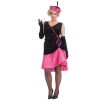 Penny Pink Flapper Plus Size Adult Costume
