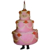 Three Tier Cake Mascot - Sales