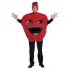 Annoying Orange Midget Apple Adult Costume