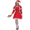 Showgirl Red Christmas Dress