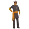 Civil War Confederate Officer Adult Costume