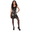 Sequin Spider Web Dress Adult Costume