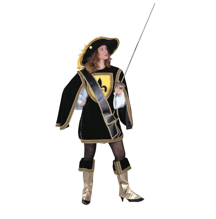 ff6f1a4f7ac Musketeer Cavalier Lady Deluxe Adult Costume