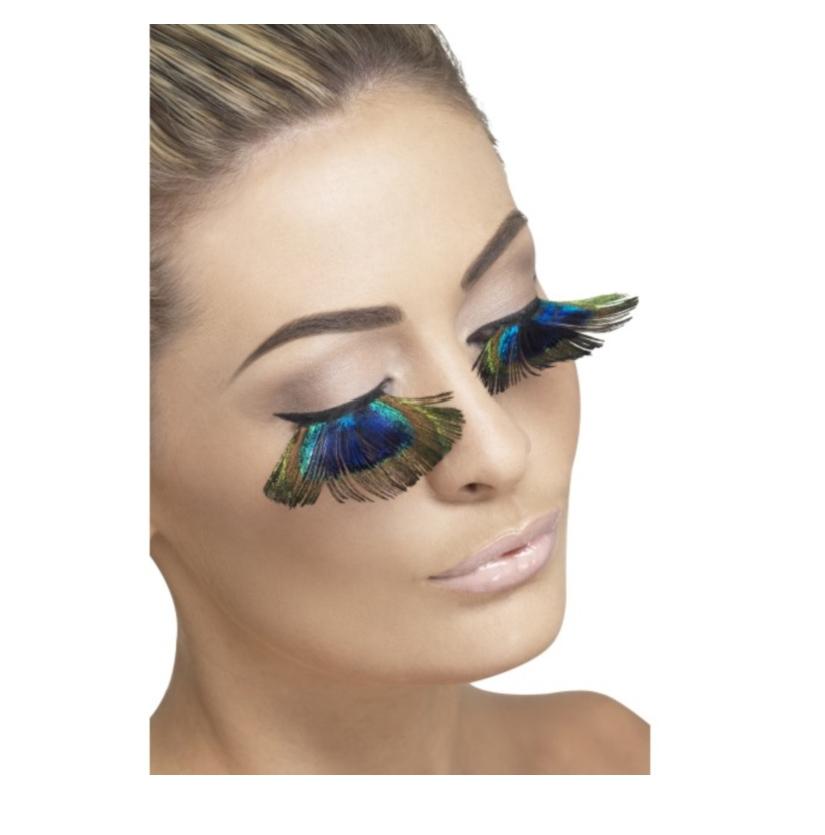 Peacock Feather Eyelashes