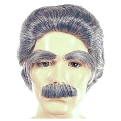 Albert Einstein Wig / Eyebrow / Moustache Set - Deluxe ...