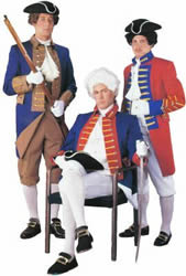 American & British Colonial Soldiers Rentals