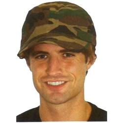 Army Hat - Camouflage