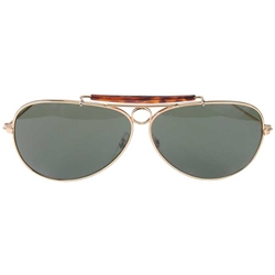 Aviator Sunglasses & Colored Lenses