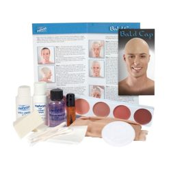 Bald Cap Kit With Makeup