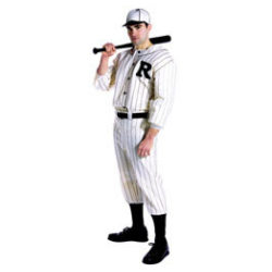 Baseball Player Old Time - Adult Costume