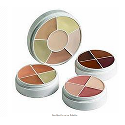 Ben Nye Conceal-All Wheel, Total Coverage - 6 Color Palette (NK-11)