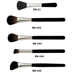 Ben Nye Powder and Rouge Makeup Brushes