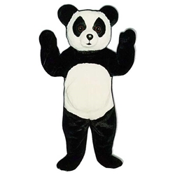 Big Toy Panda Mascot. This Big Toy Panda mascot comes complete with head, body, hand mitts and foot covers. This is a sale item. Manufactured from only the finest fabrics. Fully lined and padded where needed to give a sculptured effect. Comfortable to wear and easy to maintain.All mascots are custom made. Due to the fact that all mascots are made to order, all sales are final. Delivery will be 2-4 weeks. Rush ordering is available for an additional fee. Please call us toll free for more information. 1-877-218-1289