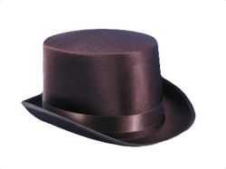 Satin Top Hat