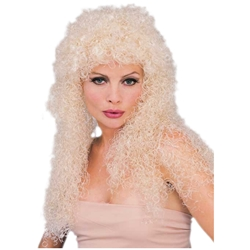 Blond Curly Character Wig